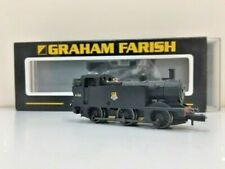 GRAHAM FARISH 'N' GAUGE 372-205 3F JINTY No 47332 BR BLK EARLY EMBLEM WEATHERED