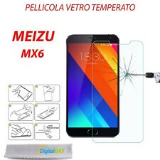 Pellicola Protettiva Display Film Glass Vetro Temperato Per Meizu MX6 MX 6