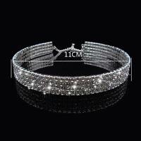 1pc Crystal Diamante Rhinestone Chokers Diamond Neck Chocker Necklace Collar New