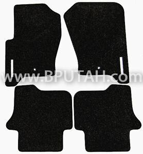 Land Rover LR3 LR4 Carpet Floor Mat Mats BLACK Genuine OEM Factory 2008~ 2016