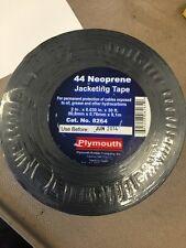 "NEW 44 Neoprene Jacketing Tape #8264 .2"" x .030"" x 30' 1 Roll"