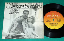 "Freddie Mercury - I Was Born To Love You BRAZIL ONLY PS 7"" Single 1985 CBS QUEEN"