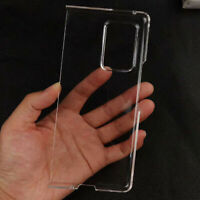 Ultra-thin Clear Protective Phone Back Case Cover Fit for Galaxy Z Fold2 5G