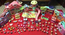 HUGE Littlest Pet Shop Lot Collection Playground Biggest Playhouse Pets