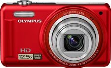 Olympus Digital Camera Vr-320 Red 14 Million Pixels Wide-Angle 24Mm Optical  F/S