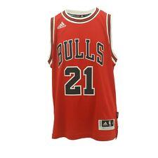 "Adidas ChicagoYouth Size Jimmy Butler Bulls Swingman official NBA +2"" Jersey New"