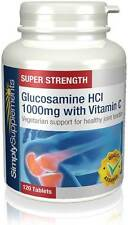 Vegetarian Glucosamine HCl 1000mg   120 Tablets   Joint & Arthritis Support