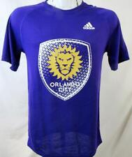 Orlando City SC Men S M or XL Short Sleeve Screened Climalite Logo T-shirt ORC 2