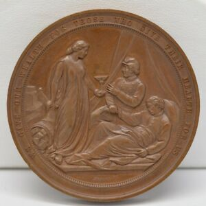 1864 Great Central Fair Philadelphia U.S. Sanitary Commission Bronze Medal