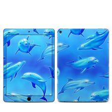 iPad Pro 9.7in Skin - Swimming Dolphins by Dan Morris - Sticker Decal