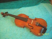 Vintage Gunnar Helland or a German  4/4 violin good  condition