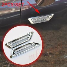 Chrome Accessories Car Door Body Fender Moulding Decorate Air Vent Inlet Grille