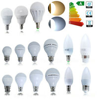 6/12/24x 3W 5W 7W 9W B22 E14 B15 E27 LED Globe Bulbs Candle Light Bulb Spotlight