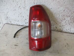 Isuzu Rodeo Dmax Right Tail light driver  2002 - 2006