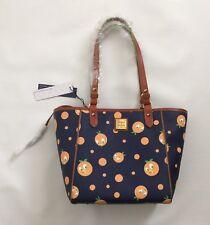 BNWT Disney Parks Dooney & Bourke Orange Bird Janie Tote Purse Bag Blue