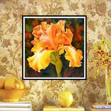 DIY 5D Diamond Embroidery Painting Pumpkin Flower Cross Stitch Home Decor Craft
