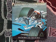 GRAND PRIX CHAMPIONSHIP 1950-1970 - ANTHONY PRITCHARD - 1971 HB DJ BOOk
