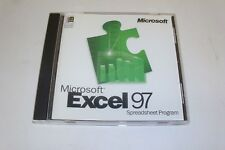 BRAND NEW Microsoft Excel 97 Upgrade for Windows 95/NT