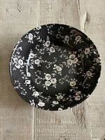 Royal Stafford Black And White Floral Cereal Bowls- Preowned- Never Used 6 Bowls