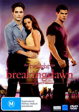 The Twilight Saga: Breaking Dawn - Part 1 * NEW DVD * (Region 4 Australia)