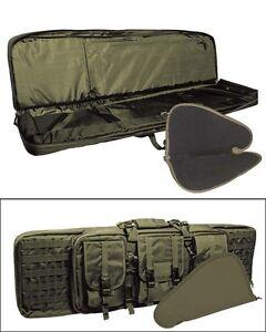 Weapon Case Set oliv, Waffen Tasche, Gewehr,  versch. Größe    -NEU-
