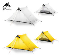 3F Ultralight 1 - 2 Person Single Outdoor Tent 3 Season Camping Tent Lightweight