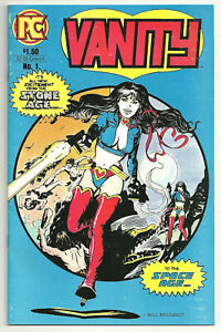 Vanity Complete 2 Issue Pacific Comics Mini-Series 1 2