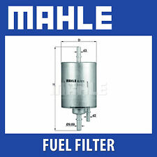 Mahle Fuel Filter KL570 - Fits Audi A4, A6 - Genuine Part