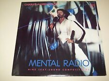 Charles Amirkhanian MENTAL RADIO : NINE TEXT-SOUND COMPOSITIONS CRI SD 523 LP NM