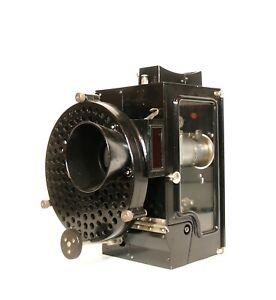 1920's Superior 35MM Glass-Sided Silent Movie Projector * Edison Kinetoscope Era