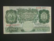 **Superb 1955 £1 'A02K'  Crisp** GVF*  'O'Brien ** Banknote ***
