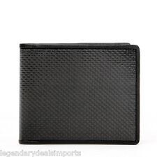 RFID Blocking Genuine Carbon Fiber Wallet Mens Bifold Dual Money Slots US Seller