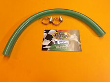 LAMBRETTA QUALITY FUEL PIPE AND STAINLESS STEEL WORM DRIVE CLIPS 30CM (12IN)