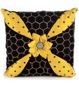MacKenzie-Childs Honeycomb Pillow - NEW