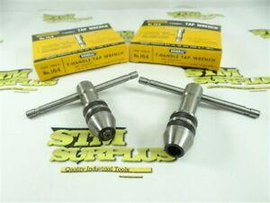 PAIR OF NEW! GENERAL -AMERICAN MADE! NO.164 T-HANDLE TAP WRENCHES