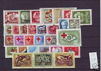 HUNGARY 1957. Complete year unit, 29 stamps