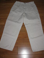 Route 66 Khaki Denim Carpenter Jeans Pants Size 13 - 14 Petite NWT
