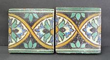 Pair of Antique Tunisian Tiles