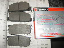 NEW FRONT BRAKE PADS - FITS: SUBARU LEONE - SALOON & ESTATE & 4WD (1979-81)