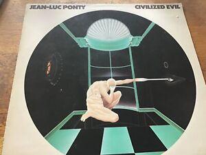 Jean-Luc Ponty - Civilised Evil - Atlantic Records 1980 EX