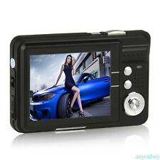 "2.7"" TFT LCD 18MP HD Digital Camera Anti-Shake Video Camcorder 8x Zoom Utensil"