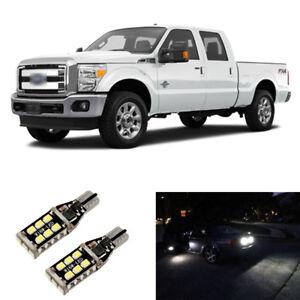 Total 1600LM White 921 LED Reverse Backup Light Bulbs For 2011-2016 F250 F350