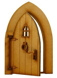 Opening Fairy Door Wooden Fairy Garden Door Fairy Window Fairy Door Accessories