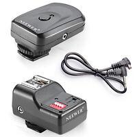 Neewer Wireless Remote FM Flash Speedlite Trigger + Receiver for Canon 580EX II