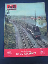 vie du rail 1959 724 CREIL AULNOYE BUSIGNY SOMAIN HOLLANGE DOLHAIN BIERGES