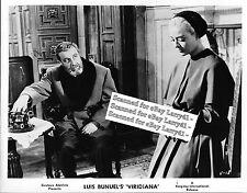 Luis Bunuel still VIRIDIANA (1961) Silvia Pinal, Fernando Rey, PRE-premiere!