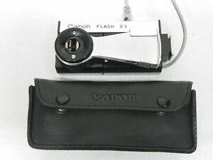 Canon Flash V3 With Original Case