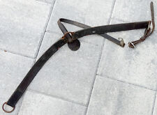 BREAST COLLAR from BIG HORN Vintage WESTERN COWBOY TOOLED LEATHER SADDLE Horse