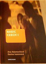 Basic Czech I by Darina Ivanovova, Ana Adamovicova (Paperback, 2014)