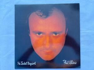 Phil Collins - No Jacket Required UK 1st press vinyl LP album N Mint